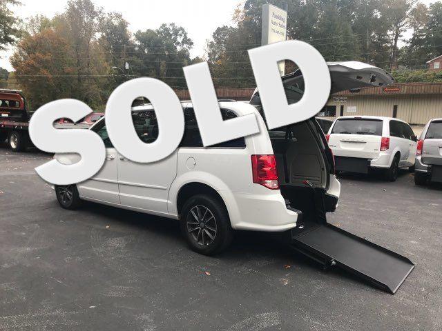 2017 Dodge Grand Caravan SXT handicap wheelchair accessible rear entry Dallas, Georgia