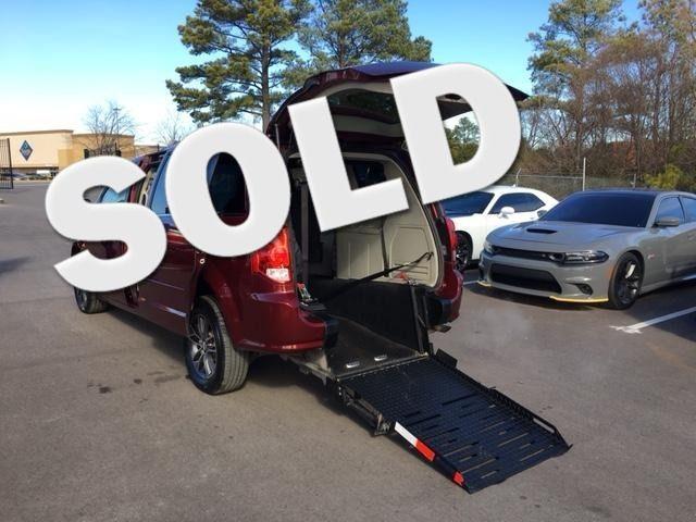 2017 Dodge Grand Caravan SXT handicap wheelchair van rear entry in Atlanta, Georgia 30132