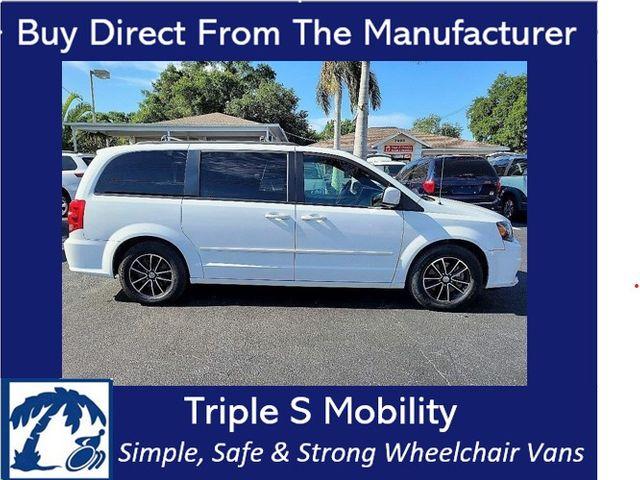 2017 Dodge Grand Caravan Gt Wheelchair Van Handicap Ramp Van