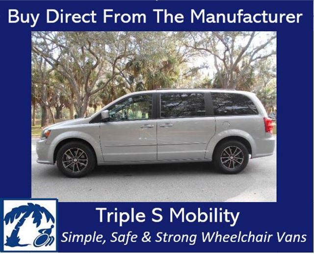 2017 Dodge Grand Caravan Gt Wheelchair Van Pre-construction pictures. Van now in production. Pinellas Park, Florida