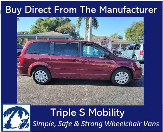 2017 Dodge Grand Caravan Se Wheelchair Van Handicap Ramp Van