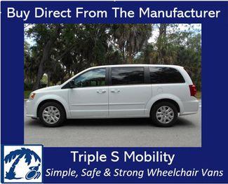 2017 Dodge Grand Caravan Se Wheelchair Van Handicap Ramp Van Pinellas Park, Florida