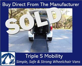 2017 Dodge Grand Caravan Sxt Wheelchair Van Handicap Ramp Van Pinellas Park, Florida 0