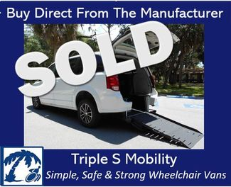 2017 Dodge Grand Caravan Sxt Wheelchair Van Handicap Ramp Van Pinellas Park, Florida