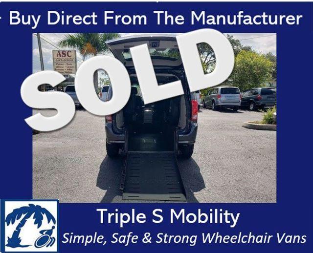 2017 Dodge Grand Caravan Sxt Wheelchair Van Handicap Ramp Van