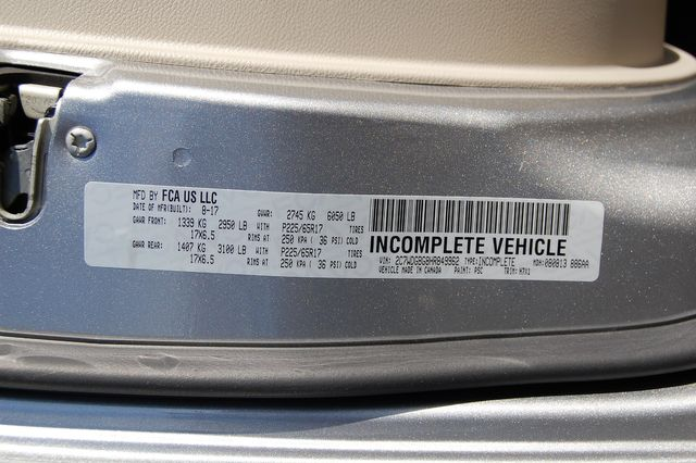 2017 Dodge H-Cap. 2 Position Charlotte, North Carolina 26
