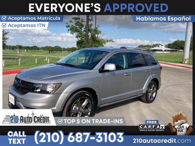 2017 Dodge Journey Crossroad Plus in San Antonio, TX 78237