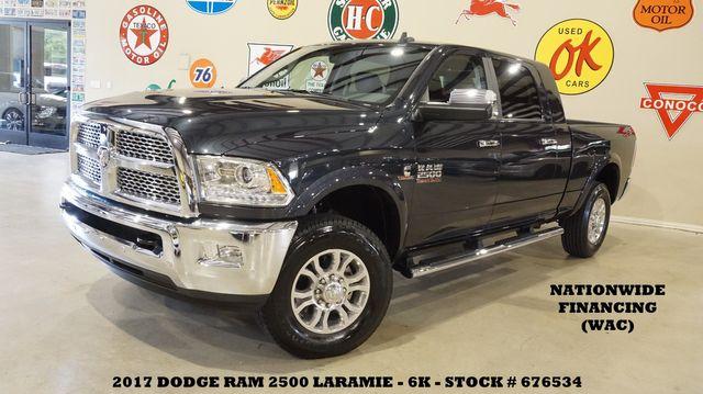 2017 Dodge RAM 2500 Laramie 4X4 NAV,BACK-UP CAM,HTD/COOL LTH,6K