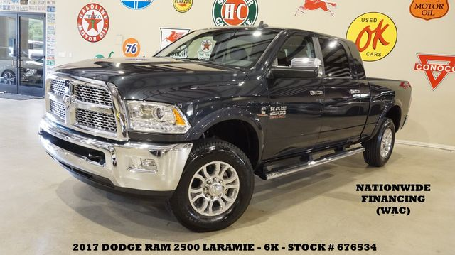 2017 Dodge RAM 2500 Laramie 4X4 NAV,BACK-UP CAM,HTD/COOL LTH,6K