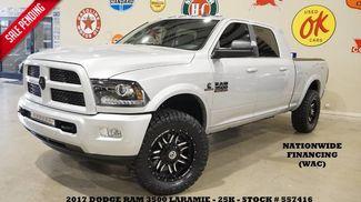 2017 Dodge RAM 3500 Laramie,MEGA CAB 4X4 AISIN,ROOF,NAV,REAR DVD, L... in Carrollton TX, 75006