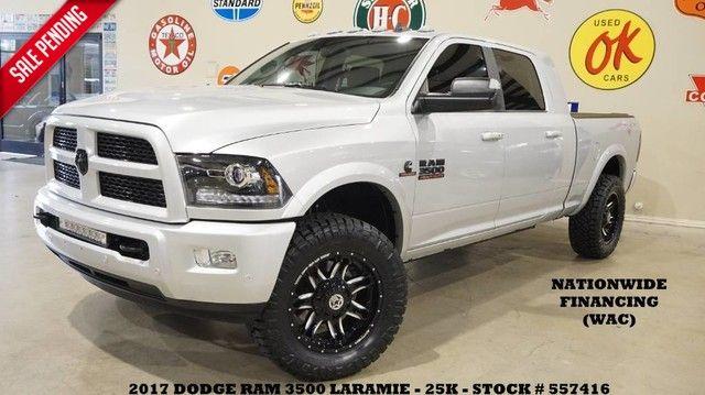 2017 Dodge RAM 3500 Laramie,MEGA CAB 4X4 AISIN,ROOF,NAV,REAR DVD, L...