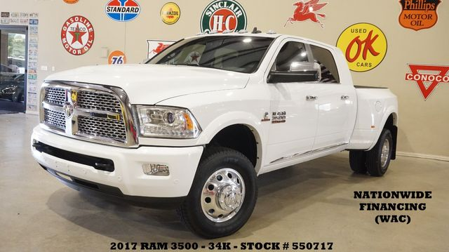 2017 Dodge Ram 3500 DRW LIMITED Limited 4X4 DIESEL,NAV,HTD/COOL LTH,34K