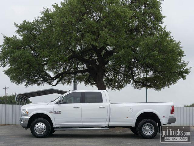 2017 Dodge Ram 3500 Crew Cab Laramie 6.7L Cummins Turbo Diesel 4X4