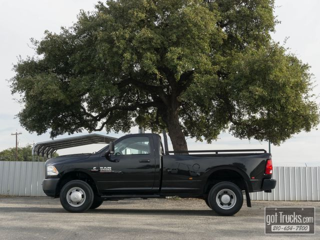 2017 Dodge Ram 3500 Regular Cab Tradesman 6.7L Cummins Diesel 4X4