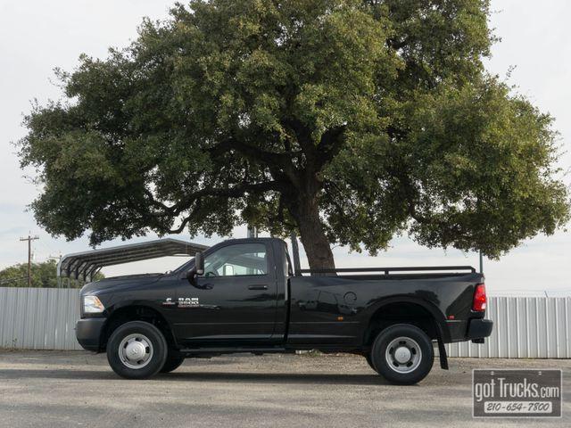 2017 Dodge Ram 3500 Regular Cab Tradesman 6.7L Cummins Diesel 4X4