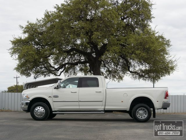 2017 Dodge Ram 3500 Crew Cab Longhorn 6.7L Cummins Turbo Diesel 4X4