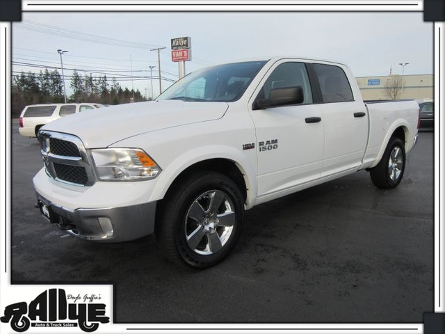 2017 Dodge 1500 Ram Outdoorsman C/Cab 4WD