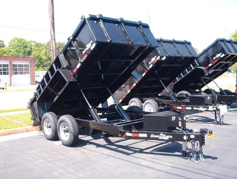 2019 Dump Trailer Down To Earth Dump 6x12 5 Ton  in Madison