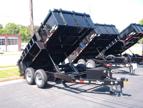 2019 Dump Trailer Down To Earth Dump 6x12 5 Ton  in Madison