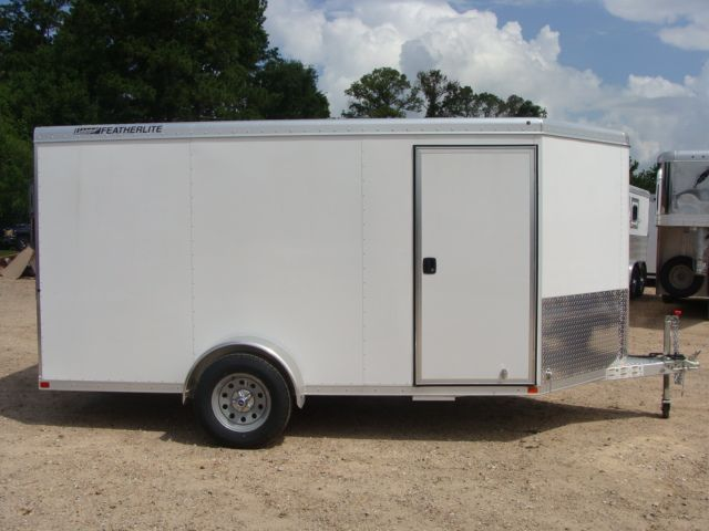 2017 Featherlite 1610 - 12 Encl Utility 12' ENCLOSED UTILITY CONROE, TX 17