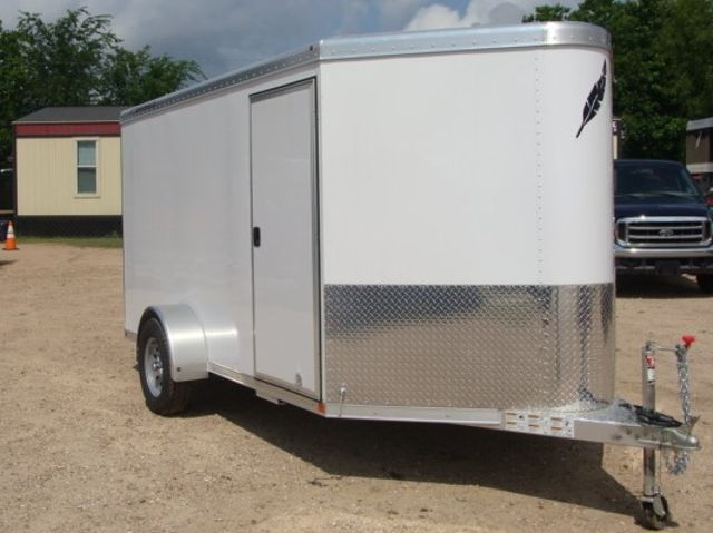 2017 Featherlite 1610 - 12 Encl Utility 12' ENCLOSED UTILITY CONROE, TX 20