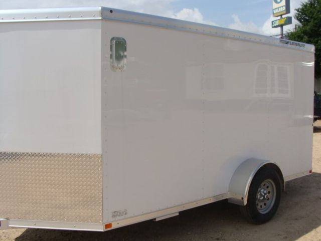 2017 Featherlite 1610 - 12 Encl Utility 12' ENCLOSED UTILITY CONROE, TX 6