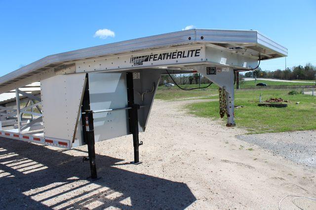 2017 Featherlite 3150-8653 53' WEDGE CAR TRAILER CONROE, TX 2