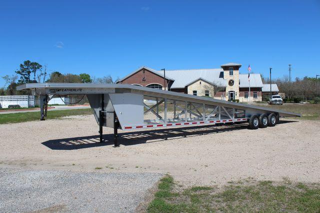 2017 Featherlite 3150-8653 53' WEDGE CAR TRAILER CONROE, TX 6