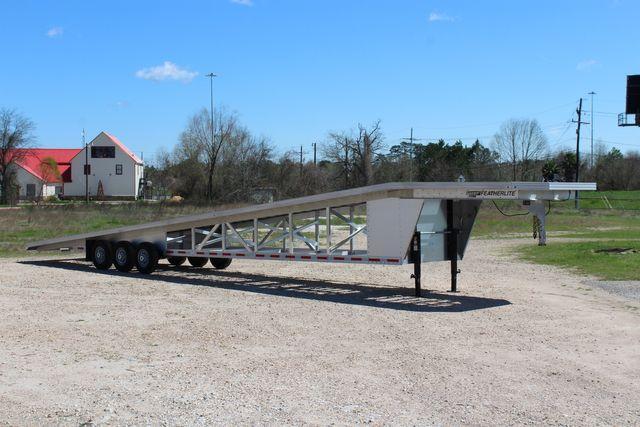 2017 Featherlite 3150-8653 53' WEDGE CAR TRAILER CONROE, TX 9