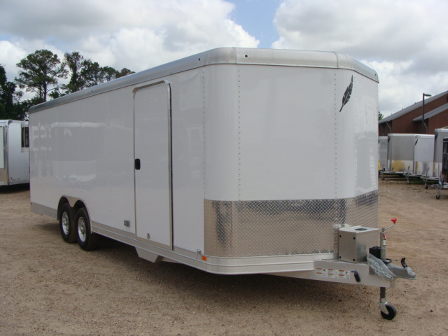 2017 Featherlite 4926 - 24' Enclosed Car Trailer 24' ENCLOSED UTILITY TRAILER CONROE, TX 34