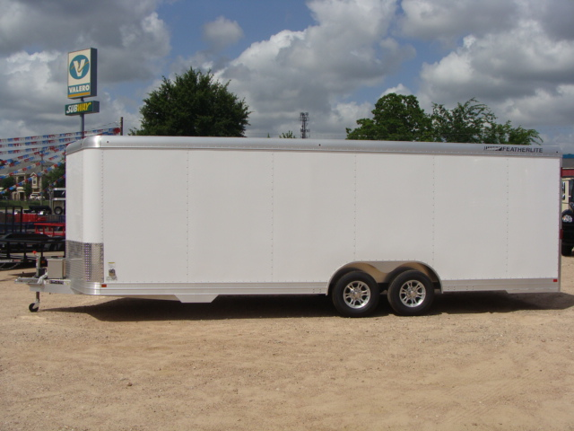 2017 Featherlite 4926 - 24' Enclosed Car Trailer 24' ENCLOSED UTILITY TRAILER CONROE, TX 10
