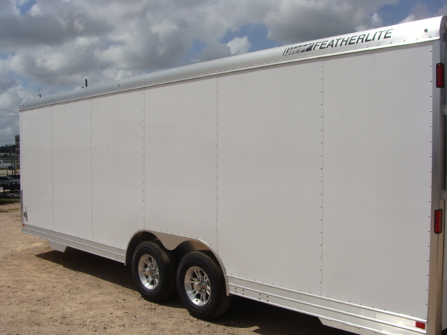 2017 Featherlite 4926 - 24' Enclosed Car Trailer 24' ENCLOSED UTILITY TRAILER CONROE, TX 11