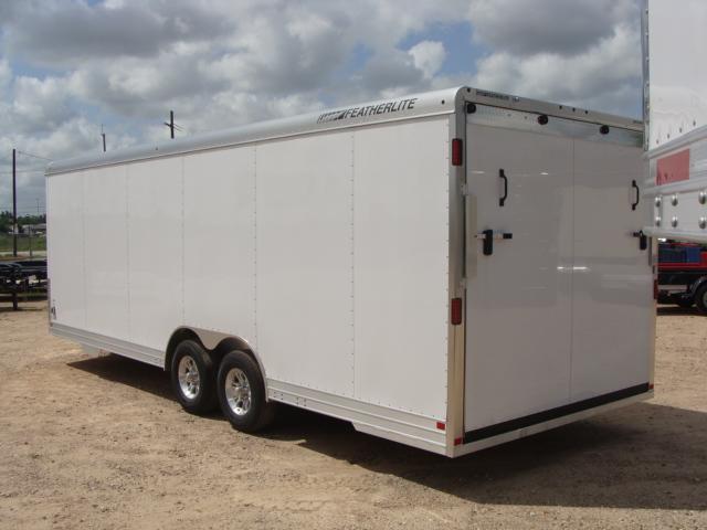 2017 Featherlite 4926 - 24' Enclosed Car Trailer 24' ENCLOSED UTILITY TRAILER CONROE, TX 13