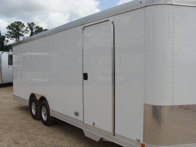2017 Featherlite 4926 - 24' Enclosed Car Trailer 24' ENCLOSED UTILITY TRAILER CONROE, TX 1