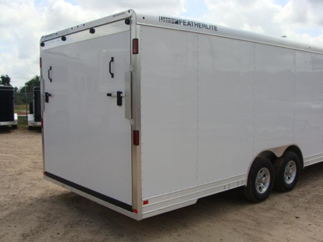 2017 Featherlite 4926 - 24' Enclosed Car Trailer 24' ENCLOSED UTILITY TRAILER CONROE, TX 28