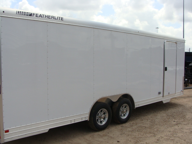 2017 Featherlite 4926 - 24' Enclosed Car Trailer 24' ENCLOSED UTILITY TRAILER CONROE, TX 29