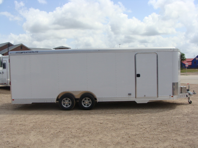 2017 Featherlite 4926 - 24' Enclosed Car Trailer 24' ENCLOSED UTILITY TRAILER CONROE, TX 31