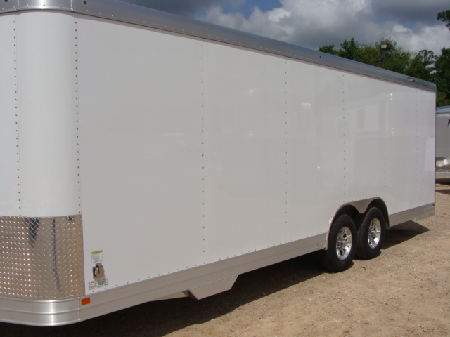 2017 Featherlite 4926 - 24' Enclosed Car Trailer 24' ENCLOSED UTILITY TRAILER CONROE, TX 7
