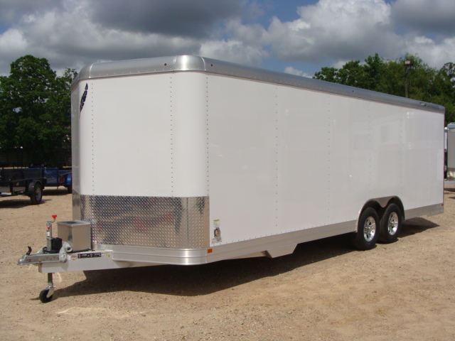 2017 Featherlite 4926 - 24' Enclosed Car Trailer 24' ENCLOSED UTILITY TRAILER CONROE, TX 8