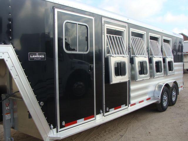 2017 Featherlite 8542 4H Four Horse CONROE, TX 7
