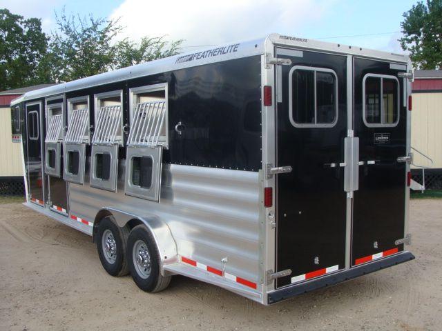2017 Featherlite 8542 4H Four Horse CONROE, TX 24