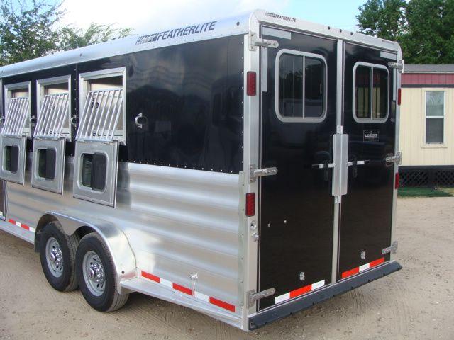2017 Featherlite 8542 4H Four Horse CONROE, TX 28