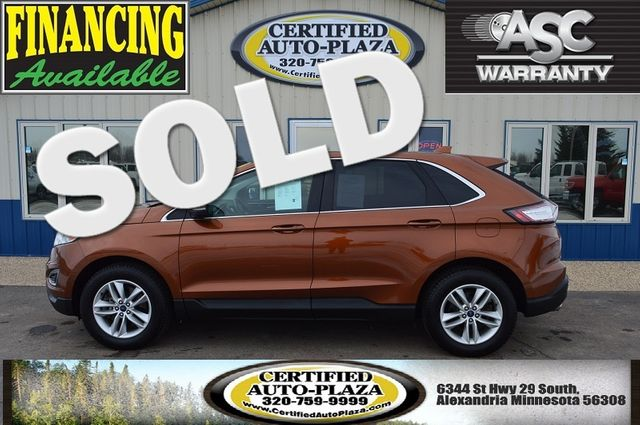 2017 Ford Edge SEL AWD in  Minnesota