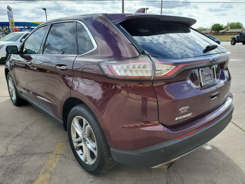 2017 Ford Edge Titanium  Brownsville TX  English Motors  in Brownsville, TX