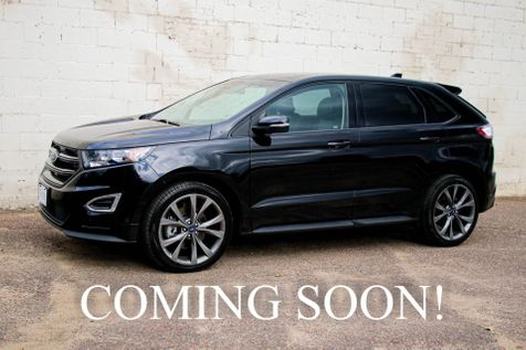 2017 Ford Edge Sport AWD Crossover w/21