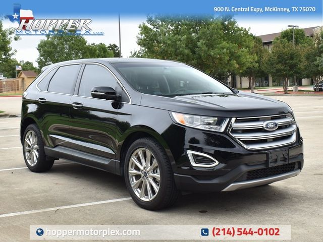 2017 Ford Edge Titanium in McKinney, Texas 75070