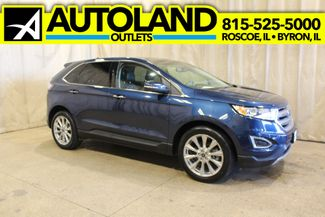 2017 Ford Edge Titanium in Roscoe, IL 61073
