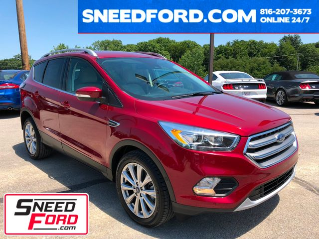 2017 Ford Escape Titanium in Gower Missouri, 64454
