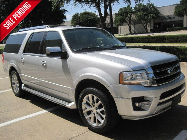 2017 Ford Expedition EL Limited Roof, htd/cool seats. Sync in Plano, Texas 75074