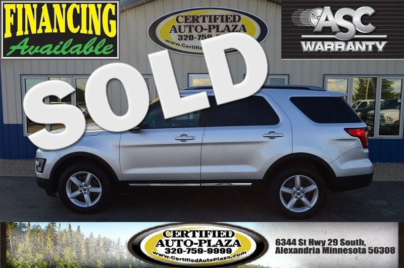 2017 Ford Explorer XLT 4x4  in Alexandria Minnesota